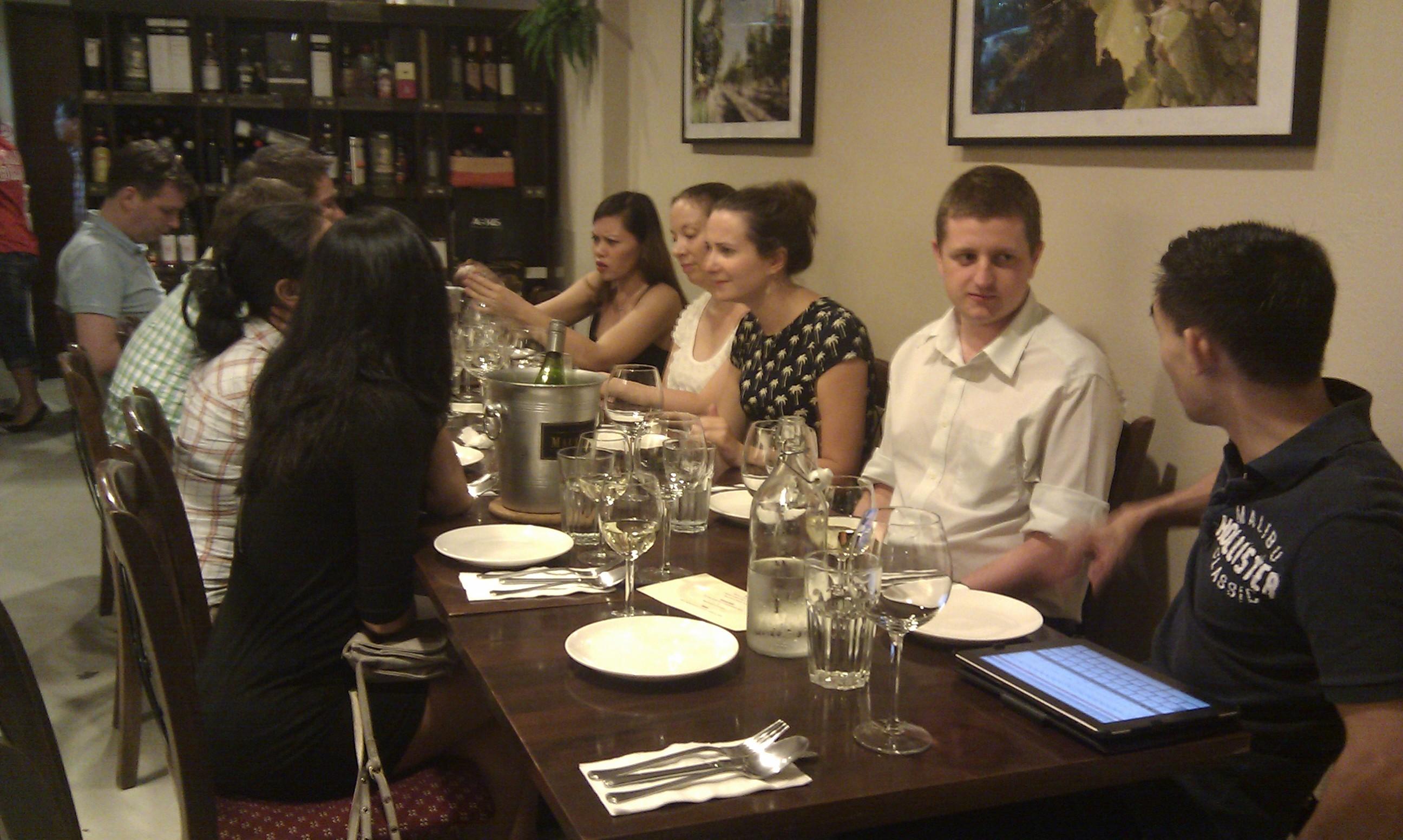 'Classics' wine dinner 16-Mar
