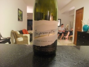 Impromptu Pinot Noir from Misha's Vineyard