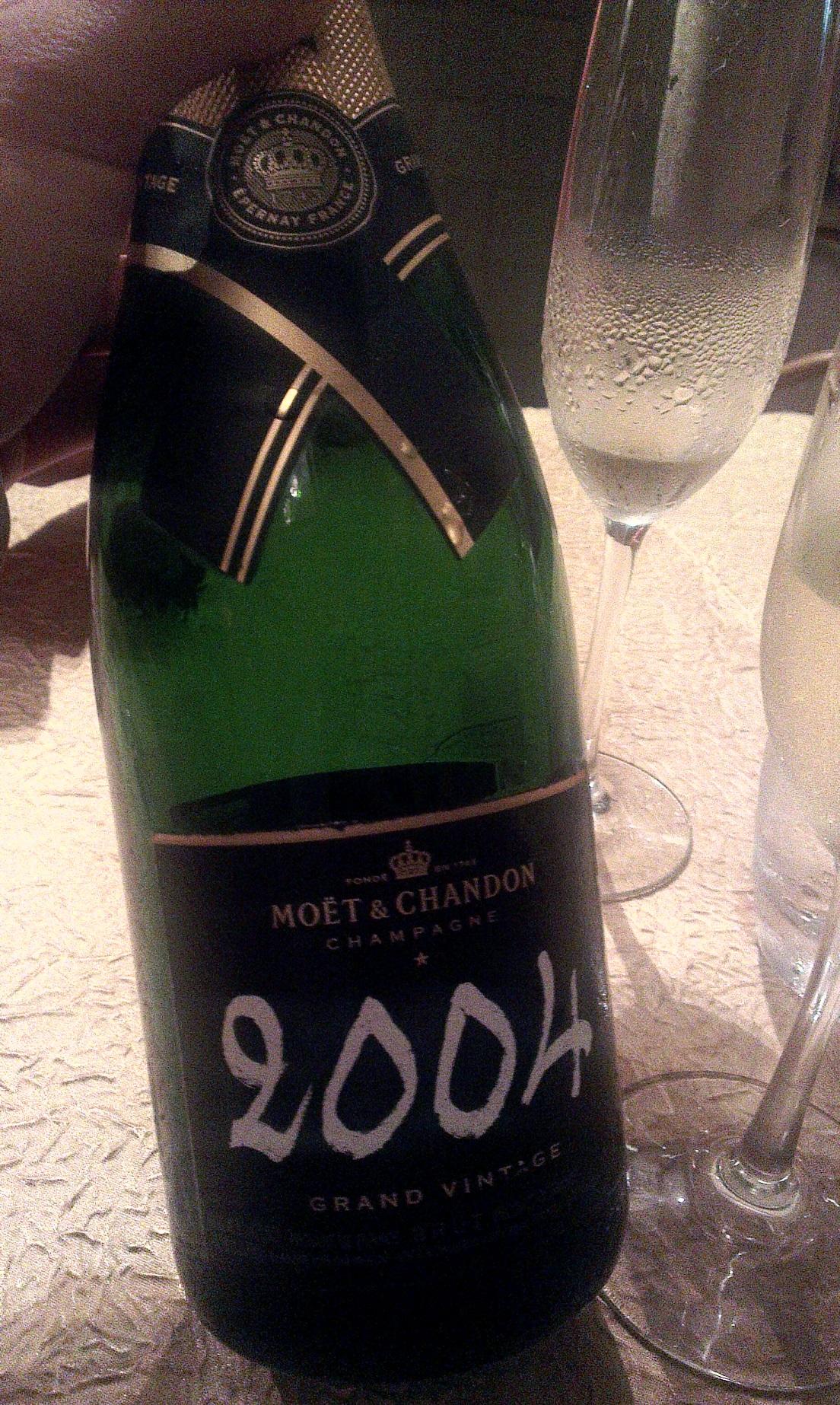 2004 Moet & Chandon vintage