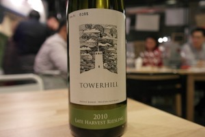 Towerhill Estate Late Harvest Riesling 2010