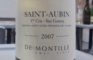 Deux Montille, Saint-Aubin 1er Cru Sur Gamay 2007