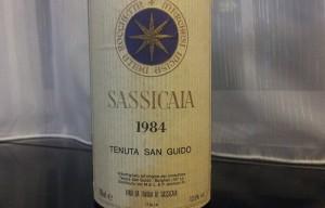 Tenuta San Guido Sassicaia 1984