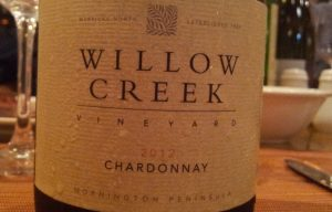 Willow Creek Vineyard Chardonnay 2012