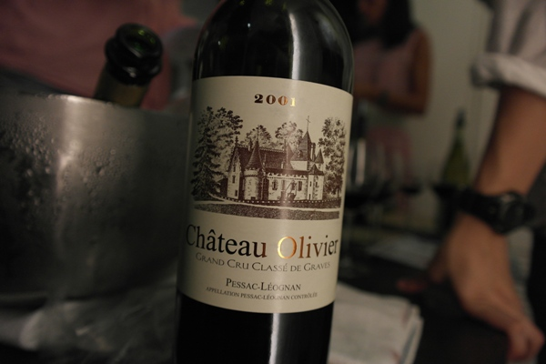 Chateau olivier 2001 wine xin for Chateau olivier