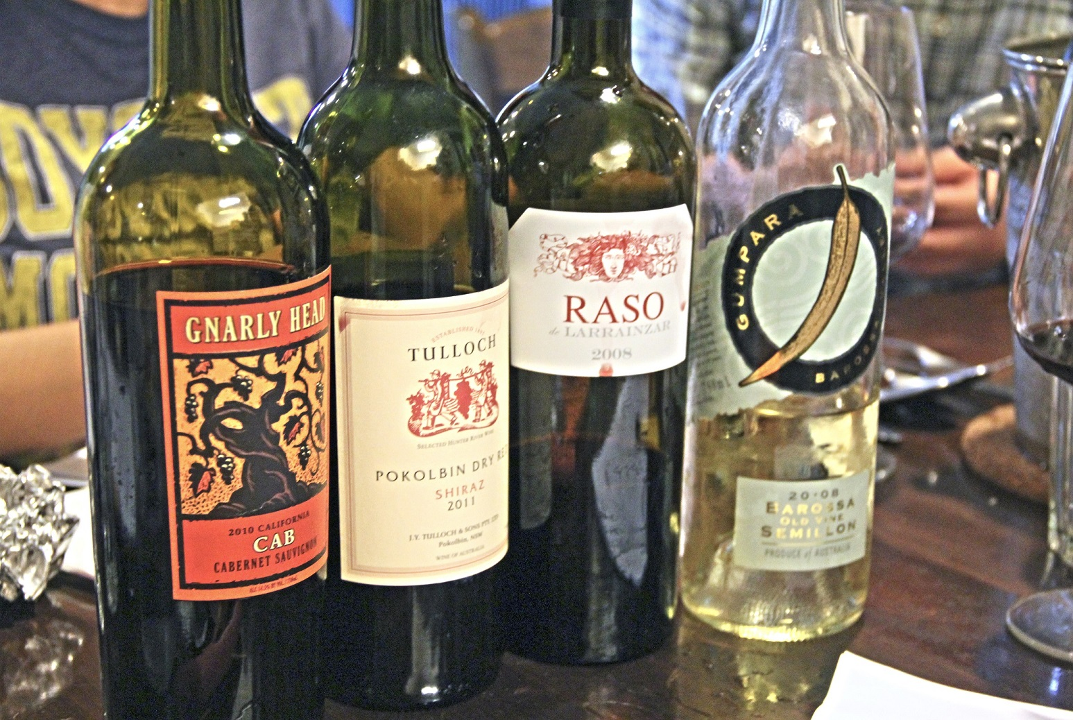 rea-priced wines line-up