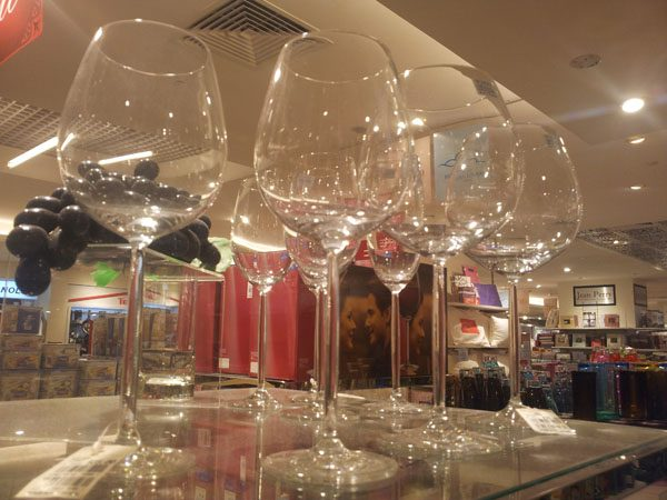 The wine glass effects
