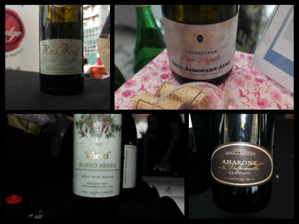 Closure with old world wines from Wine Fiesta