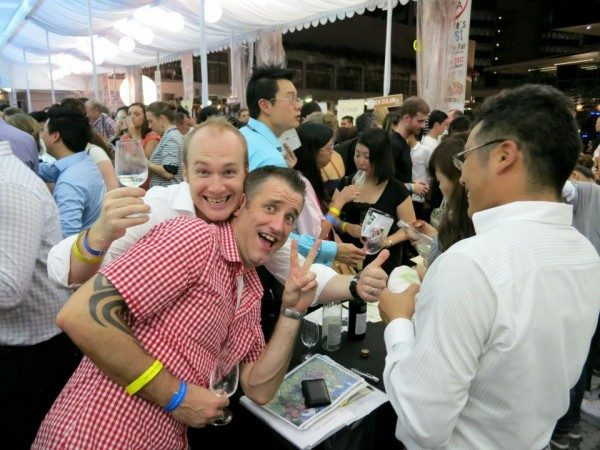 Singapore Wine Fiesta 2012 – Thirteen to one