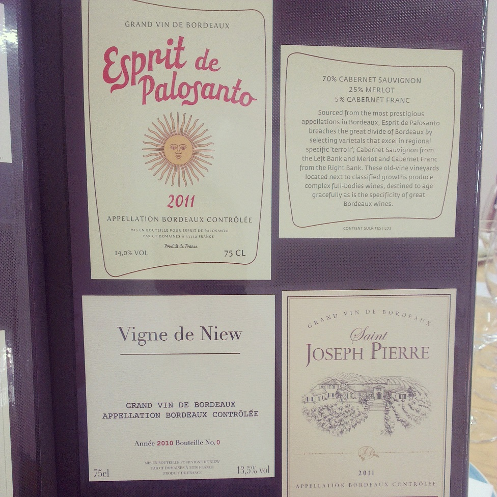 "Some VINIV clients labels, including ""Vigne de Niew""!"