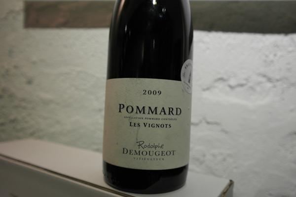 Domaine Rodolphe Demougeot, Pommard Les Vignots 2009