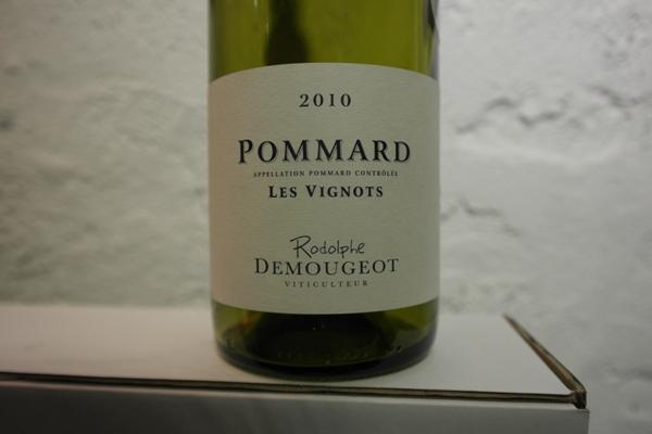 Domaine Rodolphe Demougeot, Pommard Les Vignots 2010
